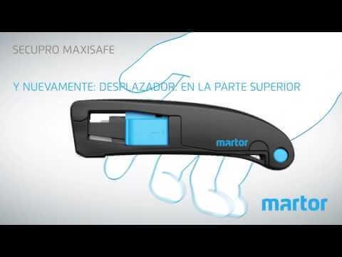 Cómo utilizar el Secupro Maxisafe?