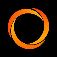 Cinta de judo bicolor amarilla/naranja