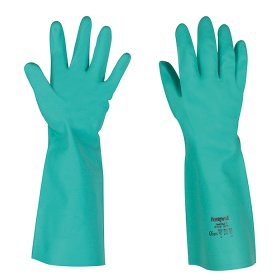 Honeywell perfect fit nitril handschoen - kort>