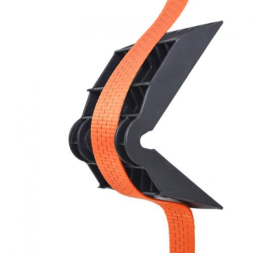 Hoekbeschermer zwart - voorkomt slijtage van uw spanband