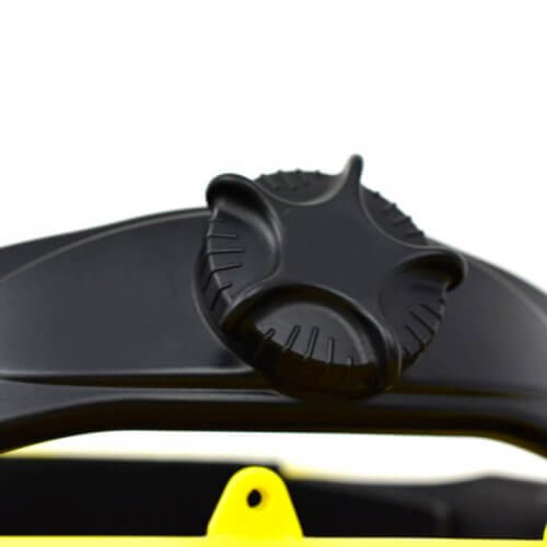 Casco de seguridad ajustable con cremallera
