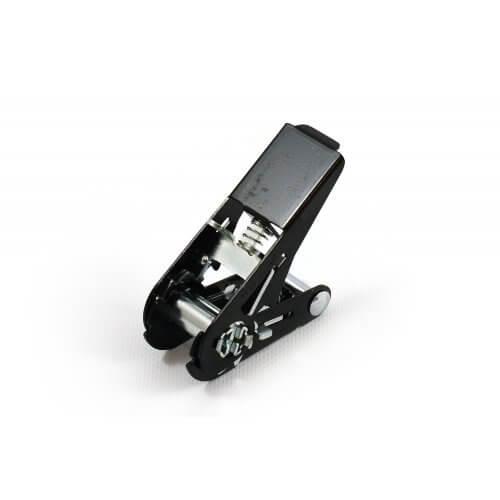 Zwarte Metaltis mini ratel