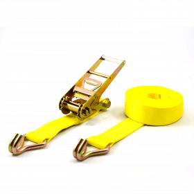 10 ton spanband 75 mm met ratel en gesloten haken>