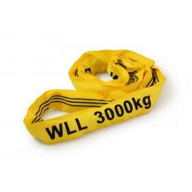 Metaltis rondstrop 3 ton geel>