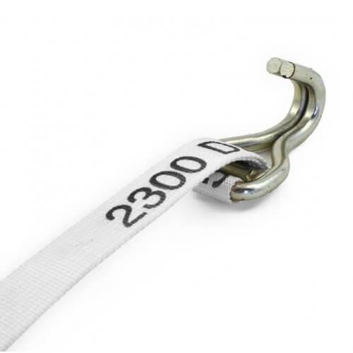 Gancho de amarre para cinta de trincaje 32 mm